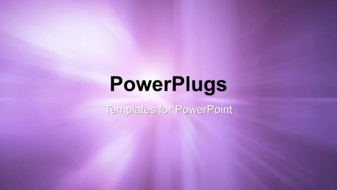 PowerPoint Template - An Abstract purple background